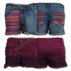 Ladies Shorts Brave Soul Womens Hot Pants Denim Mini Casual Fashion Summer New
