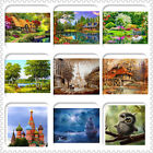 New DIY 5D Diamond Painting Embroidery Landscape Cross Crafts Stitch Home Decor