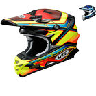 Shoei VFX-W Capacitor Motocross Off Road Helmet MX Dirt Adventure Crash ECE ACU