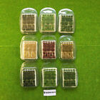 True Tufts mixed - Model Scenery Static Grass Natural Shaped Wild Warhammer Base