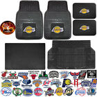NBA Universal Rubber Floor Mats & UAA Basketball Decal Black Cargo - All Teams on eBay