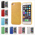 Twinkle Sparkly Bling Glitter Slim Hard plastic cover case for iPhone 7 Samsung