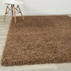 Dark Beige Shaggy Rug Warm Soft Fluffy Carpet Modern Area Rugs 5CM Thick PIle