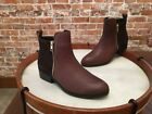 Cougar Brown Leather & Suede Waterproof Connect  Ankle Boots NEW