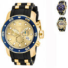 Invicta Men's Pro Diver Quartz Multifunction Gold Dial Watch