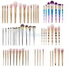 7Pcs Pro Makeup Cosmetic Brushes Set Powder Foundation Eyeshadow Lip Brush Tools