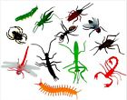 Large Plastic Toy Bugs,Insects,Perfect as Party Bag & Bug Hunting Parties