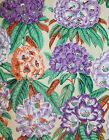 STYLISED FLORAL QUILT CRAFT SEWING FABRIC *Free Oz Post