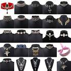 Fashion Women Ladies Rhinestone Charm Choker Chunky Statement Bib Chain Necklace