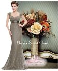 OCTAVIA Lace Coffee Maxi Bridesmaid Prom Ballgown Evening Dress Sizes UK 8 - 20