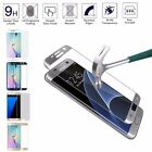 1PC Tempered Glass Screen Scratch Protective Full Cover For Samsung S6/7 Edge
