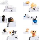 Cute Pug Dog Universal Dust Plug Cap Mobile Phone Tablet Charm Puppy Pugs Case