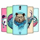 HEAD CASE DESIGNS FAUNA HIPSTERS HARD BACK CASE FOR ONEPLUS ONE