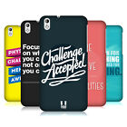 HEAD CASE DESIGNS BEYOND THE DISABILITY HARD BACK CASE FOR HTC DESIRE 816