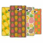 HEAD CASE DESIGNS PINEAPPLE PATTERNS SOFT GEL CASE FOR SONY XPERIA M2