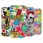 HEAD CASE DESIGNS STICKER HAPPY - NEW SOFT GEL CASE FOR APPLE iPHONE 4 4S