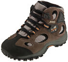 Merrell Childrens Walking Boots Chameleon Mid Waterproof Kangaroo/Boa Grey