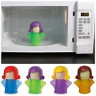 US STOCK Kitchen House Metro Angry Mama Microwave Cleaner Cleaning Tool 4 Colors