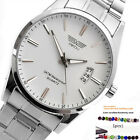 Mens Casual Fashion Sport Date Elegant Stainless Steel Analog Quartz Watch +Gift