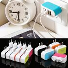 Triple USB Port Wall Home Travel AC Power Charger Adapter For Samsung Galaxy@3.1