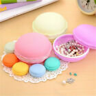Storage Boxes Cute Large/Mini Macarons Jewelry Pill Earring Box Outing Travel