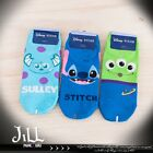 Japan lolita cartoon fantasy Pixar household mascot face ankle socks【JMA7043】