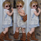 Kids Baby Girls Summer Crochet Lace Hollow Cardigan Tops Vest Tassel Waistcoat