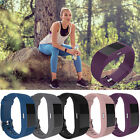 Fashion Replacement Wristband Silicon Rubber Bracelet Band For Fitbit Charge 2