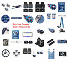 New NFL Tennessee Titans Pick Your Gear / Car Accessories Official Licensed