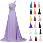 Chiffon Formal Evening Party Cocktail Wedding Long Maxi Prom Bridesmaid Dresses