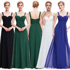 Womens Formal Long Chiffon Bridesmaid Prom Dresses Evening Party Cocktail Dress