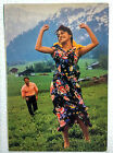 Bollywood Actor - Sunny Deol - Juhi Chawla - Rare Old Post card Postcard