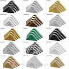 """100 Cotton Filled Cardboard Jewelry Gift Boxes Paper 1 7/8"""" x 1 1/4"""" x 5/8""""H"""