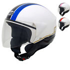 MT VENTUS MOTION OPEN FACE THERMOPLASTIC MOTORCYCLE SCOOTER HELMET WITH VISOR