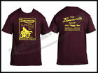 THE BONNEVILLE SHOP TRUSTY T-SHIRT MAROON TEE TRIUMPH NORTON BSA PN# TBS-9996 $32.06 AUD on eBay