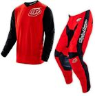 NEW TROY LEE DESIGNS TLD GP HOT ROD MX GEAR COMBO RED ALL SIZES