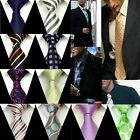 Fashion Men's Wedding Groom Formal Tie Necktie 100% Silk Jacquard Woven FS01-27