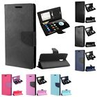 For ZTE Imperial Max / Max Duo 4G LTE Wallet Case Phone Cover Card Pocket Slots