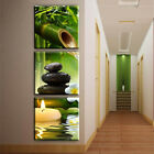 3PCS Unframed Modern Oil Painting Canvas Wall Art Picture Living Room Home Decor