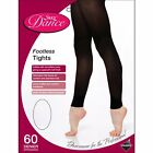 CHILDREN'S SILKY FOOTLESS DANCE TIGHTS IN TAN AVAILABLE IN SIZE AGES 3-13