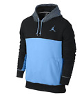 619442 477 Nike Air Jordan Flight Classic Mens Hoodie Black/Legend Blue sz S-XL