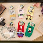 american cartoon fantasy spongebob sea club character ankle socks【JMA7046】