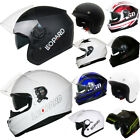 *Big Clearance* Leopard Full Open Face Modular DVS Motorbike Motorcycle Helmet