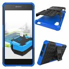 8 Colors Anti-skid shock Hybrid case cover For SONY Xperia E5