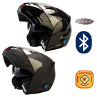 Viper RS-V131 BL+ 3.0 Bluetooth Flip Up ACU Gold Motorcycle Motorbike Helmet