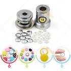 #18 Aluminum Covered Cover Bread Button Plastic Back + One Tool Metal DIY