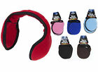 UNISEX ADJUSTABLE HEAD EAR MUFFS - WRAPAROUND - WARM - INSULATED- FLEECE
