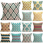 NEW 2017 Pillow Case Cushion Cover Decorative Linen Square Home Case Various
