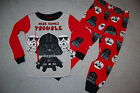 Toddler Boys Pajamas STAR WARS DARTH VADER STORM TROOPERS Red Gray 2T 3T 4T 5T $16.0 USD