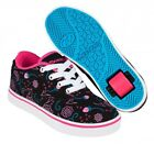 Heelys Launch Shoes - Black / Hot Pink / Blue +FREE HOW TO DVD